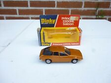 DINKY TOYS 123 PRINCESS 2200HL 2200 HL SALOON METALLIC BROWN NM BOXED