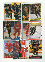 97 count lot mixed Igor Larionov CARDS! Red Wings Center 70 Rookie Cards!