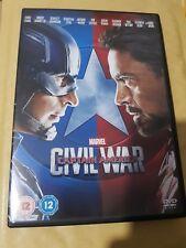 Marvel - Captain America - Civil War DVD - UK Region 2 - Brand New but Unsealed