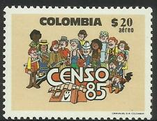 COLOMBIA 1985 CENSUS FIREMAN 1v MNH