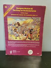 Dungeons And Dragons  Module B2 The Keep On The Boarderlands Manual