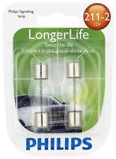 Dome Light Bulb-Longerlife - Twin Blister Pack Rear Philips 211-2LLB2