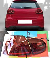 VW GOLF MK5 V 2003-2008 FARI POSTERIORI FULL LED ROSSO SCURO - GTI