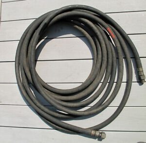 deep sea diving air hose, 50 foot length, For Mk V Hard Hat helmet.