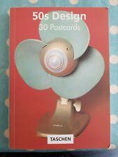 More details for taschen: 50s design - 30 postcards: postcard book: removable  tashen