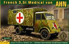 Ace Models 1/72 French World War II AHN 3.5 ton MEDICAL VAN