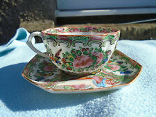 Beautiful Chinese Famile Rose  Tea cup And saucer