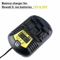 12V & 20V MAX Li-ion Battery Charger Replacement for Dewalt DCB118 DCB115 DCB112