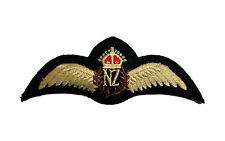 NEW ZEALAND AIR FORCE EMBROIDERED WINGS  not padded