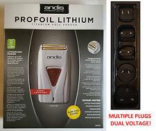 Andis Profesional 17170 Profoil ™ lámina rasuradora de titanio de litio TS-1 (enchufe múltiple)