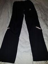 Adidas clima 365 Pantalones De Entrenamiento Tamaño UK 6 EE. UU. XS Negro