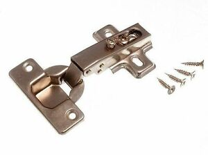 Nuovo a Molle Armadietto Cerniera 35MM 95d Piastra Cruciforme BZP Acciaio Vite (
