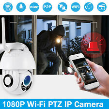 Wireless 1080P HD WiFi IP Camera Waterproof Outdoor Security IR Night Vision
