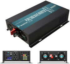 WZRELB Pure Sine Wave Power Inverter 5000W 36V to 120/220V Solar Home System RV