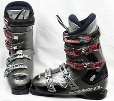 Rossignol Exalt X Ski Boots Mondo 28.5 Mens 10.5 Gray/Black/Red- USED -