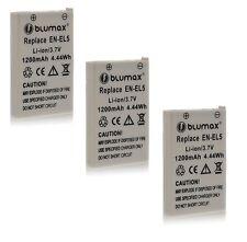 3x EN-EL5 Battery Pack for Nikon Coolpix P90 P80 P6000 P530 P520 7900 5900 S10