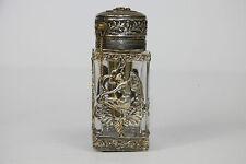 Parfum Flacon mit Zerstäuber, Frankreich um ca. 1860/70 -  Vaporisateur Cristal