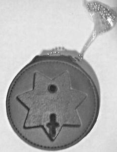 HERO'S PRIDE RECESSED BADGE HOLDER (7 Point Star)