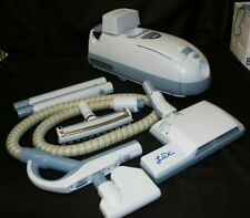 Electrolux Lux 9000 Blue/White Canister Vacuum with Many Accessories! Tested!