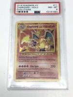 Pokemon 2016 XY Evolutions Charizard holo PSA 8