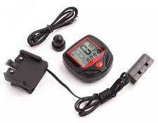 Odometer Bike Bicycle Computer Digital Speedometer Distance Cycling Stopwatch