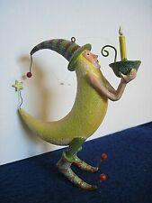Patience Brewster Krinkles Christmas ornament Dept 56 Moon Man (2002)