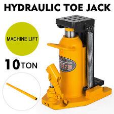 10 Ton Hydraulic Toe Jack Machine Lift Cylinder Proprietary Tool Machinery