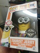 Funko pop TOURIST JERRY despicable me 3 EXCLUSIVE Metallic
