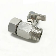 1PC Alloy Water Diverter Ball Valve Counter Benchtop Filter Shower Faucet Supply