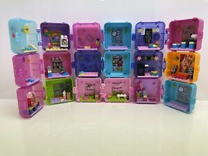 9x Lego Friends Play Cubes - Joblot / No Figures Included / 9 Cubes
