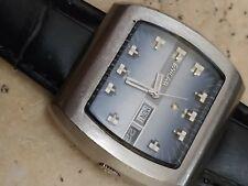 A nice vintage enicar dds 240 automatic men wrist watch TV style