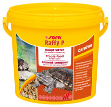 (5 78 €/ 1l) Sera Raffy P 3 8 Litro (700g) Wasserschildkrötenfutter