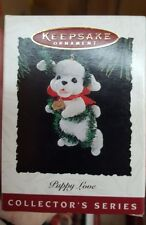 1994 Hallmark Keepsake Ornament Puppy Love 4th in Series Poodle NIB NEW IN BOX