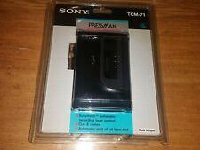 Sony Pressman TCM-71  (Cassette Tape Recorder) New Sealed