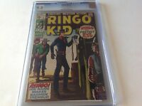 RINGO KID 1 CGC 9.0 OFF WHITE TO WHITE PAGES BROWN YELLOW COVER MARVEL COMICS
