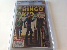 RINGO KID 1 CGC 9.0 OFF WHITE TO WHITE PAGES BROWN AND YELLOW COVER 1970