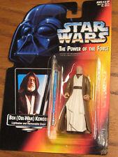 Star Wars / The Power of the Force - Ben (Obi-Wan) Kenobi Action Figure - 1995