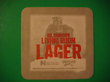 Beer Coaster Mat ~*~ GREAT BASIN Brewing Dr. Church's Living Room Lager * NEVADA