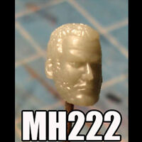 "MH222 Custom Cast Sculpt part Male head cast for use with 3.75"" action figures"