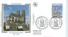 FDC - FRANCE 3180 - COLLEGIALE DE MANTES LA JOLIE