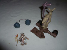 VINTAGE ROBIN HOOD OF THIEVES BOLA BOMBER EWOK LOGRAY FIGURE LOT 1991 KENNER SET