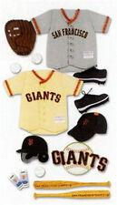 EK Success Jolees MLB San Francisco Giants Scrapbook 3D Uniform Sticker Baseball