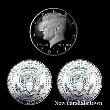 2017 P+D+S Kennedy Half Dollar Mint Proof Set ~ Proof and PD from Mint Rolls