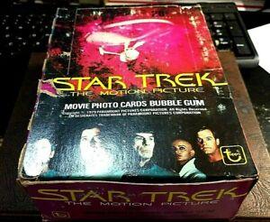 1979 Topps STAR TREK THE MOVIE original wax box 36 unopened wax packs