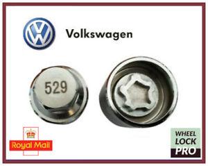 New Volkswagen VW Locking Wheel Nut Key Number 529 'J' - UK Seller