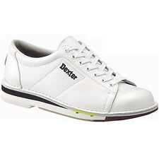 Dexter Mens SST 1 White  Left Handed  Bowling Shoes size 15  Brand new in box