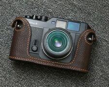 Leather Voigtlander Bessa R Half Case (Colour Choice) - BRAND NEW
