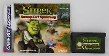 SHREK SWAMP KART SPEEDWAY - GAMEBOY ADVANCE GBA GAME BOY - PAL ESPAÑA
