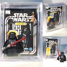 Star Wars Darth Vader MINIFIGURE w Display Case Custom Minifig Lego C029 z