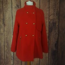 Primark/Atmosphere Size 10 Red Swing Coat